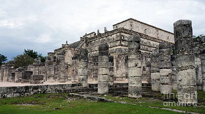 Photograph - Chichen Itza Ruins 24 by Rachel Munoz Striggow