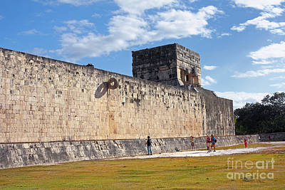 Photograph - Chichen Itza Ruins by Charline Xia