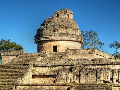 Photograph - Chichen Itza's Observatory-el Caracol by Eti Reid