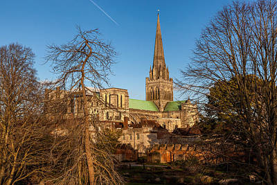 Photograph - Chichester Cathedral by Stuart Gennery