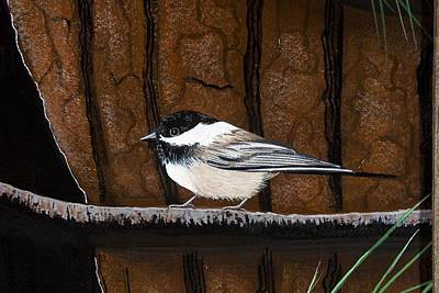 Painting - Chickadee by Jennifer Lake