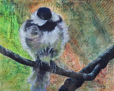 Chickadee Original by Patricia Pasbrig