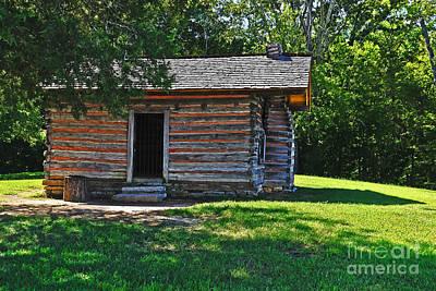 Chickamauga Cabin Art Print