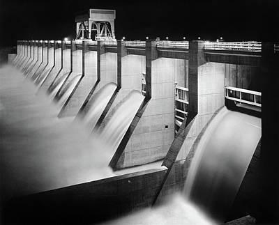 Chickamauga Dam, C1938 Art Print