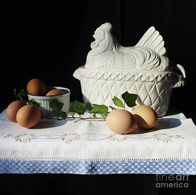 Photograph - Chicken And Eggs by Michelle Welles