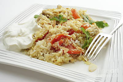 Photograph - Chicken Biriyani Meal by Paul Cowan