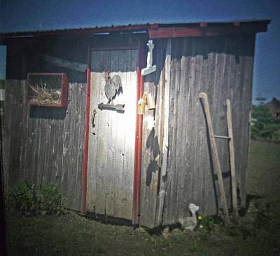 Country Scene Photograph - Chicken Coop by Heather Allen