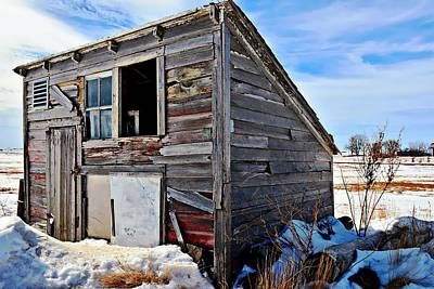 Abandoned Photograph - Chicken Coop by Miss Judith