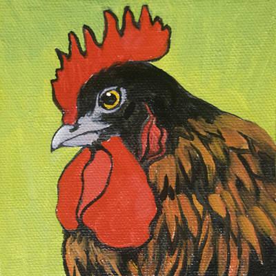 Chicken Little 3 Original by Tracie Thompson