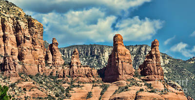 Photograph - Chicken Point Sedona Arizona by Donna Greene
