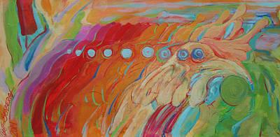 Painting - Chickenoooga by Jeff Seaberg