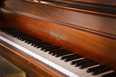 Photograph - Chickering Grand Piano by Rich Franco