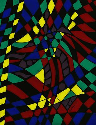 Painting - Chiclet Abstract by Barbara St Jean
