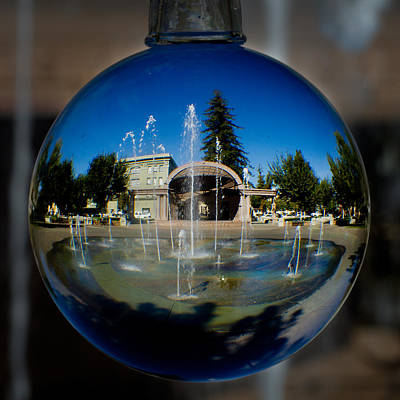 Photograph - Chico City Plaza by Robert Woodward