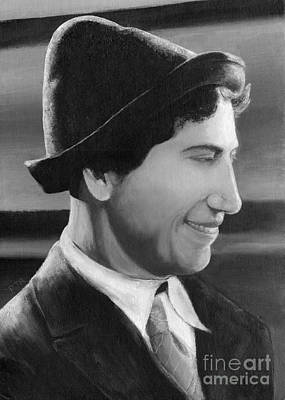 Painting - Chico Marx by Peggy Dreher