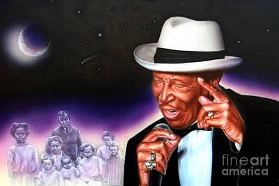 Drifter Painting - Chico Vega Of The Drifters by James Loveless