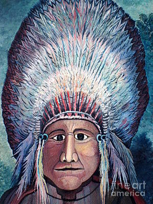 Photograph - Chief 1 by Greg Reichert Estate