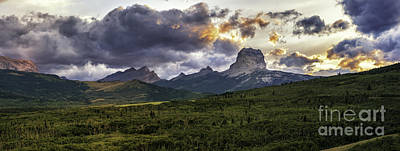 Photograph - Chief Mountain-rocky Mountain Front Montana by Expressive Landscapes Fine Art Photography by Thom