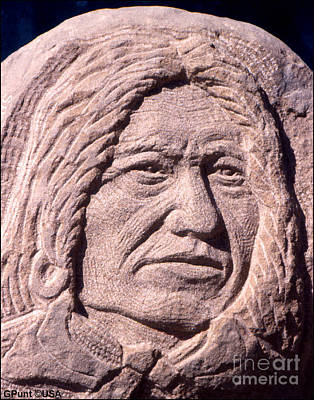 Quanah Parker Sculpture - Chief-spotted-tail by Gordon Punt