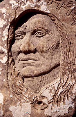 Sculpture - Chief-washakie by Gordon Punt