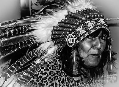 Photograph - Chiefess Headress by Michael Canning