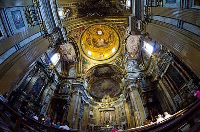 Photograph - Chiesa Del Gesu by Pablo Lopez