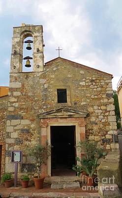 Photograph - Chiesa Di S. Michele  Taormina by Tim Townsend