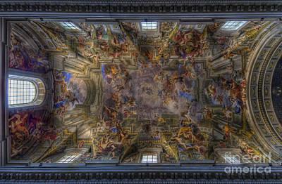 Photograph - Chiesa Di Sant Ignazio Di Loyola by Yhun Suarez