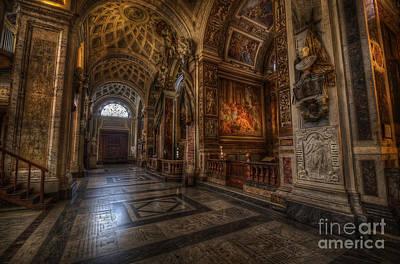 Photograph - Chiesa San Luigi Dei Francesi 2.0 by Yhun Suarez