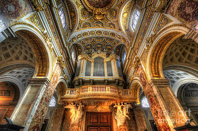 Photograph - Chiesa San Luigi Dei Francesi  by Yhun Suarez