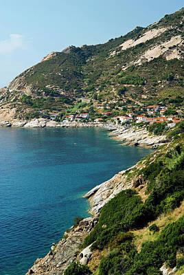 Chiessi, Isola D'elba, Elba, Tuscany Art Print by Nico Tondini