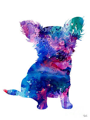 Chihuahua Painting - Chihuahua 5 by Watercolor Girl