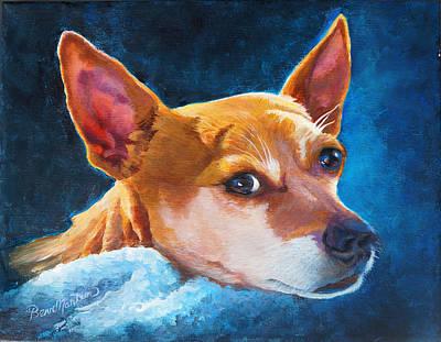 Short Hair Chihuahua Painting - Chihuahua Baby by Beverly Martin