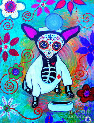Painting - Chihuahua Doctor by Pristine Cartera Turkus