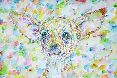 Painting - Chihuahua by Fabrizio Cassetta