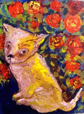 Painting - Chihuahua Love by Michaela Kraemer