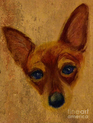 Digital Art - Chihuahua by Michelle Wolff