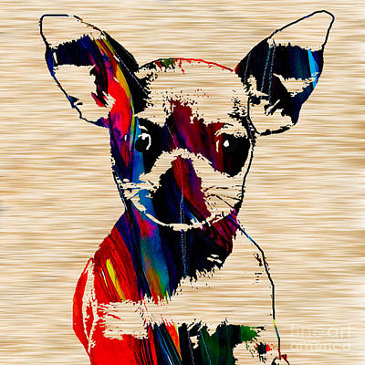 Chihuahua Mixed Media - Chihuahua Puppy  by Marvin Blaine