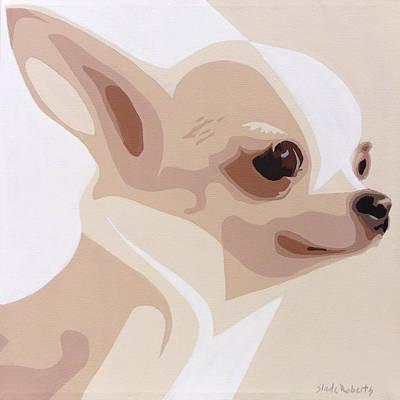 Chihuahua Abstract Art Painting - Chihuahua by Slade Roberts