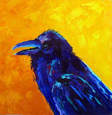 Chihuahuan Raven Art Print