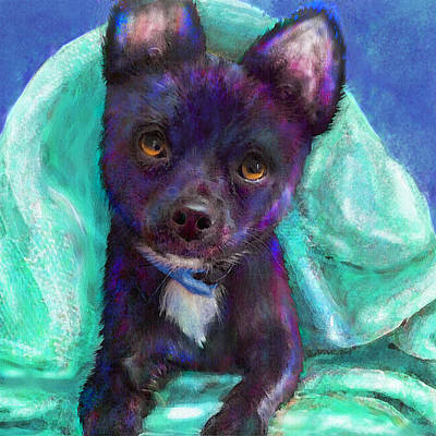 Digital Art - Chihuaua by Jane Schnetlage