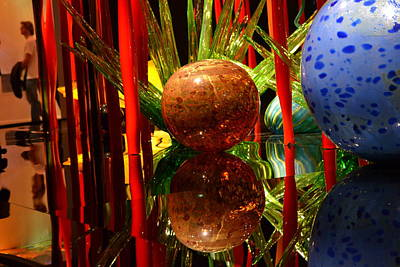 Chihuly-10 Art Print by Dean Ferreira