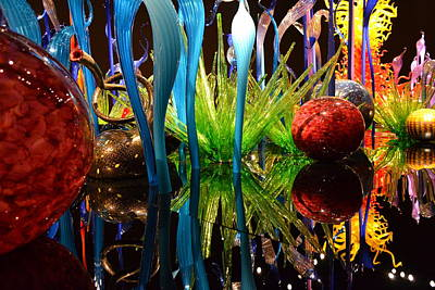 Chihuly-11 Art Print by Dean Ferreira