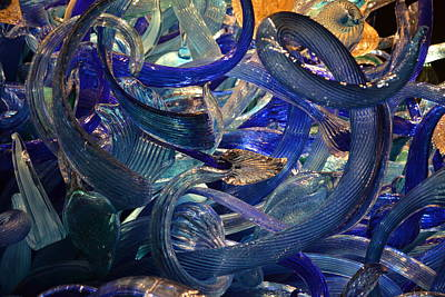 Chihuly-2 Art Print by Dean Ferreira