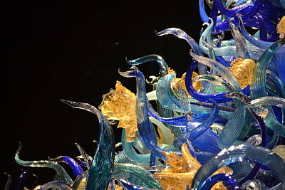 Chihuly-4 Art Print by Dean Ferreira