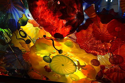 Chihuly-5 Art Print by Dean Ferreira