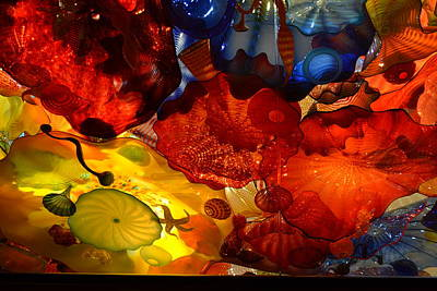 Chihuly-6 Art Print by Dean Ferreira