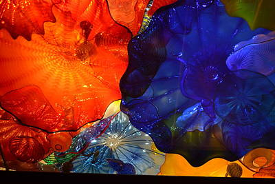 Chihuly-7 Art Print by Dean Ferreira
