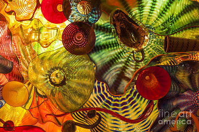 Chihuly Glass 3 Art Print