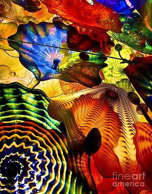 Chihuly Persian Ceiling Art Print